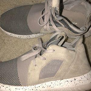hightop grey adidas tubluar